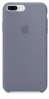 Чехол для Apple iPhone 7 Plus / 8 Plus Silicone Case - Lavender Grey OEM