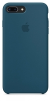 Чехол для Apple iPhone 7 Plus / 8 Plus Silicone Case - Cosmos Blue OEM