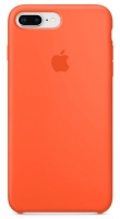 Чехол для Apple iPhone 7 Plus / 8 Plus Silicone Case - Spicy Orange OEM