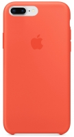 Чехол для Apple iPhone 7 Plus / 8 Plus Silicone Case - Nectarine OEM