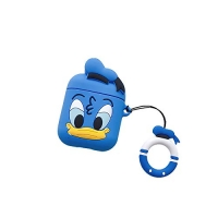 Чехол для Apple AirPods Disney Donald Blue (Синий Дональд)