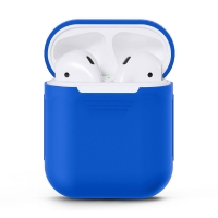 Чехол для Apple AirPods Насыщено-синий (Royal Blue)
