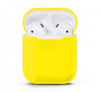 Чехол для Apple AirPods Жёлтый (Yellow)
