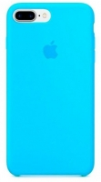 Чехол для Apple iPhone 7 Plus / 8 Plus Silicone Case - Blue OEM