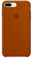 Чехол для Apple iPhone 7 Plus / 8 Plus Silicone Case - Brown OEM