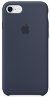 Чехол для Apple iPhone 7/8 Silicone Case - Midnight Blue OEM