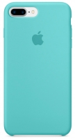 Чехол для Apple iPhone 7 Plus / 8 Plus Silicone Case - Sea Blue OEM