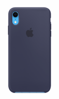 Чехол для Apple iPhone Xr Silicone Case - Midnight Blue OEM