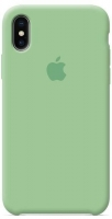 Чехол для Apple iPhone XS Max Silicone Case - Mint OEM