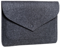 "Чехол-конверт для MacBook 13"" Gmakin Felt Cover Серый (Gray) (GM62-13)"