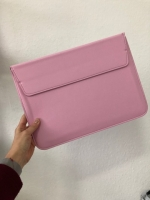 "Чехол-папка для MacBook 13"" PU Sleeve Bag Розовый (Pink)"