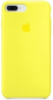 Чехол для Apple iPhone 7 Plus / 8 Plus Silicone Case - Yellow OEM