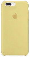 Чехол для Apple iPhone 7 Plus / 8 Plus Silicone Case - Gold OEM