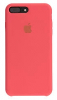 Чехол для Apple iPhone 7 Plus / 8 Plus Silicone Case - Bright Pink OEM