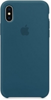 Чехол для Apple iPhone XS Max Silicone Case - Cosmos Blue OEM
