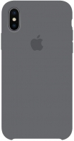 Чехол для Apple iPhone XS Max Silicone Case - Dark Grey OEM