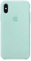 Чехол для Apple iPhone XS Max Silicone Case - Marine Green OEM