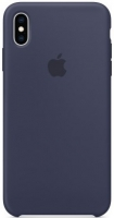 Чехол для Apple iPhone X/XS Silicone Case - Midnight Blue OEM