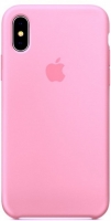 Чехол для Apple iPhone XS Max Silicone Case - Pink OEM