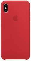 Чехол для Apple iPhone X/XS Silicone Case - (Product) Red OEM