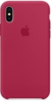 Чехол для Apple iPhone XS Max Silicone Case - Rose Red OEM