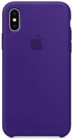 Чехол для Apple iPhone XS Max Silicone Case - Ultra Violet OEM