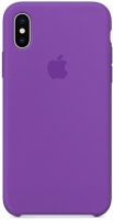 Чехол для Apple iPhone XS Max Silicone Case - Violet OEM