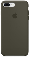 Чехол для Apple iPhone 7 Plus / 8 Plus Silicone Case - Dark Olive OEM