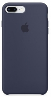 Чехол для Apple iPhone 7 Plus / 8 Plus Silicone Case - Midnight  Blue OEM