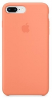 Чехол для Apple iPhone 7 Plus / 8 Plus Silicone Case - Peach OEM
