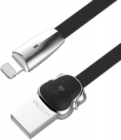Кабель Lightning to USB 1m Rock Dog Black