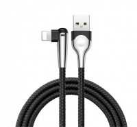 Кабель Lightning to USB Baseus Sharp-Bird Mobile Game Cable 1.5A 1m Black (Calmvp-D01)