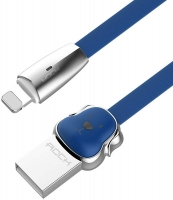 Кабель Lightning to USB 1m Rock Dog Blue