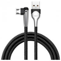 Кабель Micro USB Baseus Sharp-Bird Mobile Game Cable 2.4A 1m Black (Cammvp-E01)