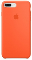 Чехол для Apple iPhone 7 Plus / 8 Plus Silicone Case - Orange OEM