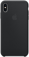 Чехол для Apple iPhone XS Max Silicone Case - Black OEM