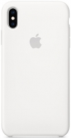 Чехол для Apple iPhone XS Max Silicone Case - White OEM