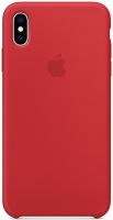 Чехол для Apple iPhone XS Max Silicone Case - (Product) Red OEM