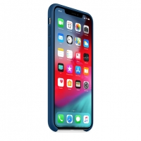 Оригинальный чехол для Apple iPhone XS Max Silicone Case - Blue Horizon (MTFE2)