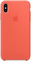 Чехол для Apple iPhone XS Max Silicone Case - Nectarine OEM