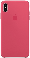Чехол для Apple iPhone XS Max Silicone Case - Hibiscus OEM
