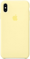 Чехол для Apple iPhone XS Max Silicone Case - Mellow Yellow OEM