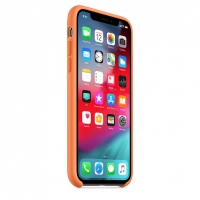 Оригинальный чехол для Apple iPhone X/XS Silicone Case - Papaya (MVF22)