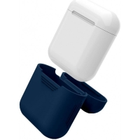 Чехол для Apple AirPods Тёмно-синий (Midnight Blue)
