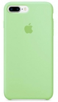 Чехол для Apple iPhone 7 Plus / 8 Plus Silicone Case - Mint Gum OEM