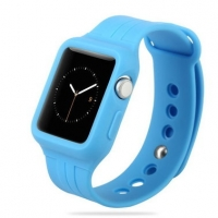 Ремешок для Apple Watch 38mm/40mm Baseus Fresh Color Sports Watch Band Blue