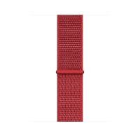 Ремешок для Apple Watch 42mm/44mm Woven Nylon New Red