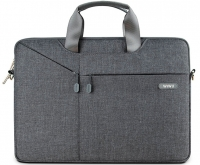 "Сумка для MacBook 13"" Wiwu Gent Brief Серая (Gray)"