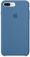 Чехол для Apple iPhone 7 Plus / 8 Plus Silicone Case - Denim Blue OEM