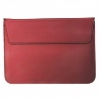 "Чехол-папка для MacBook 13"" PU Sleeve Bag Бордовый (Wine Red)"